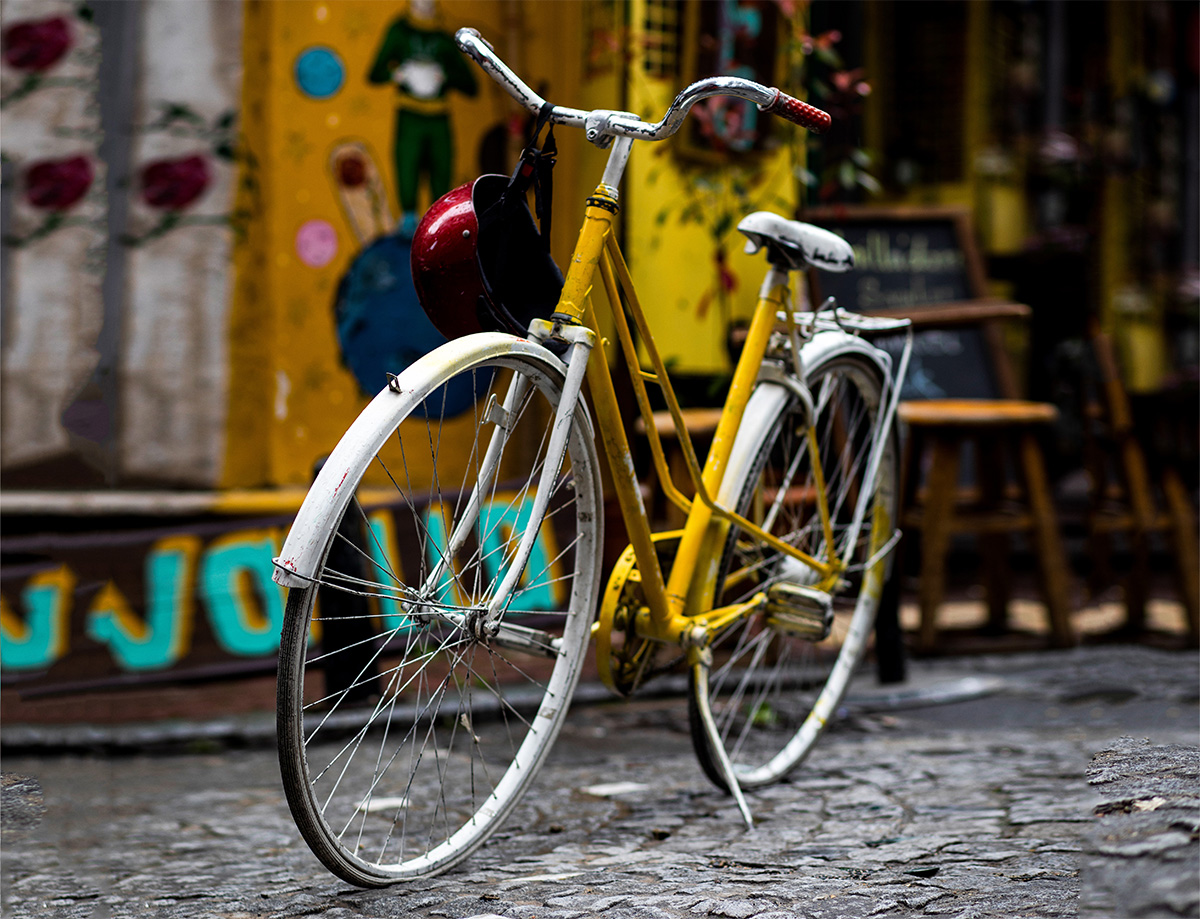 Nelle città utilizzo maggiore della bicicletta