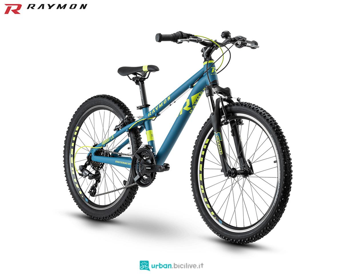 Una bici R Raymon FourRay 1.0 2020