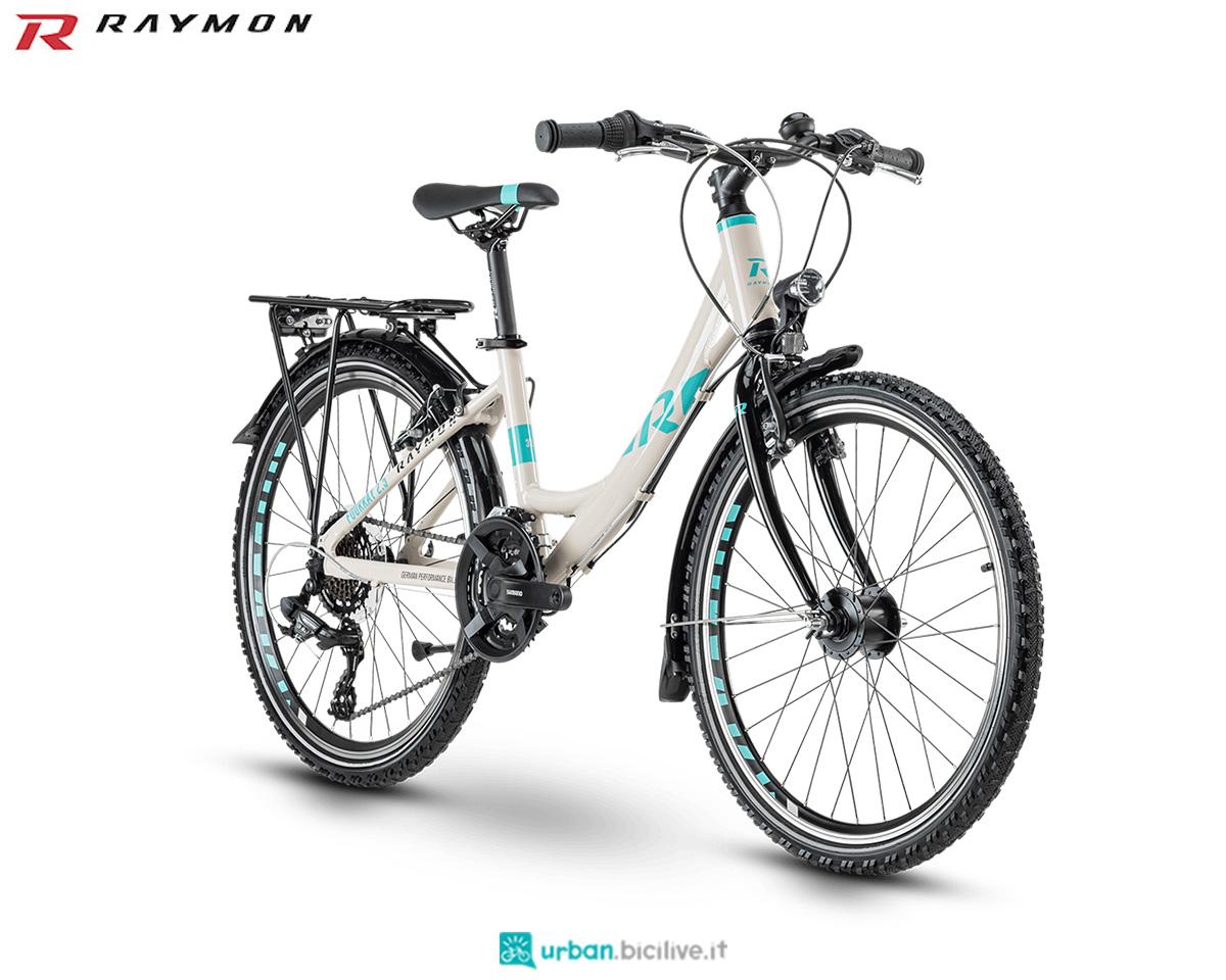 Una bici R Raymon FourRay 2.5 Street 2020 Wave