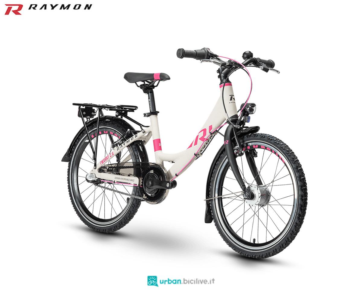 Una bici R Raymon TwoRay 2.0 Street 2020 Wave