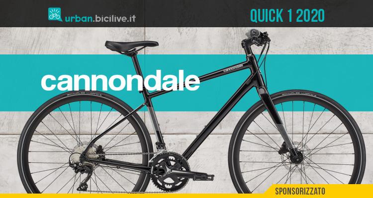Cannondale Quick 1: una bicicletta versatile e comoda per la città