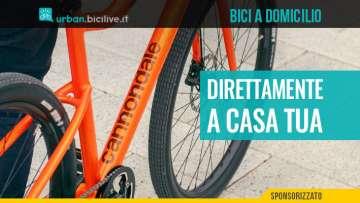 Consegna delle biciclette a casa per i clienti Cannondale