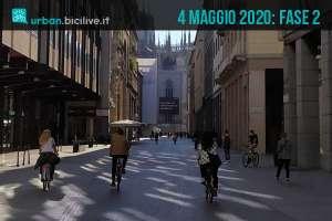Fase 2: la ripartenza del 4 maggio 2020 per i ciclisti