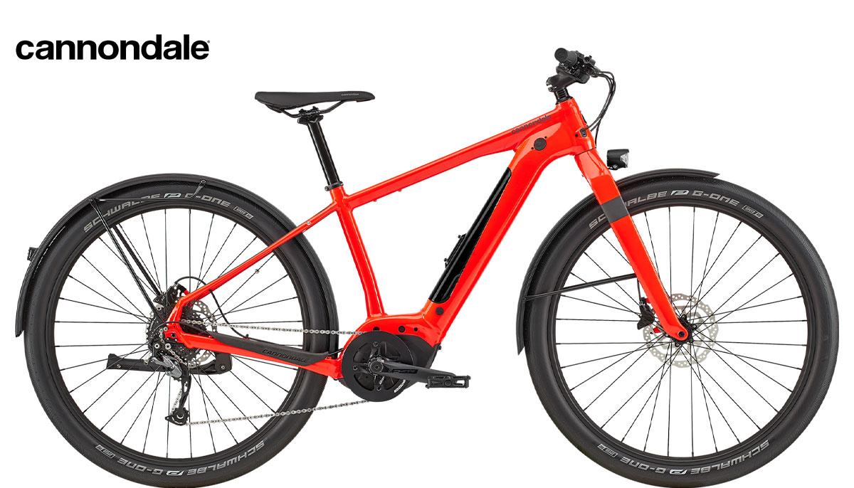 Una bicicletta elettrica per uso urbano Cannondale Canvas Neo 2 dal catalogo 2020
