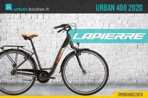 Lapierre Urban 400: una city bike per muoversi in città