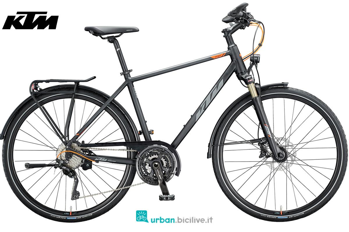 La bici da trekking su strada KTM Life Style