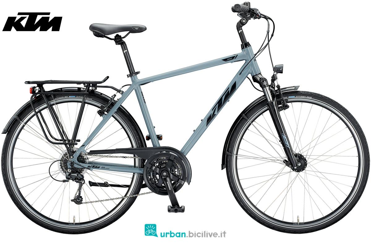 Una bicicletta KTM Life Time gamma 2020