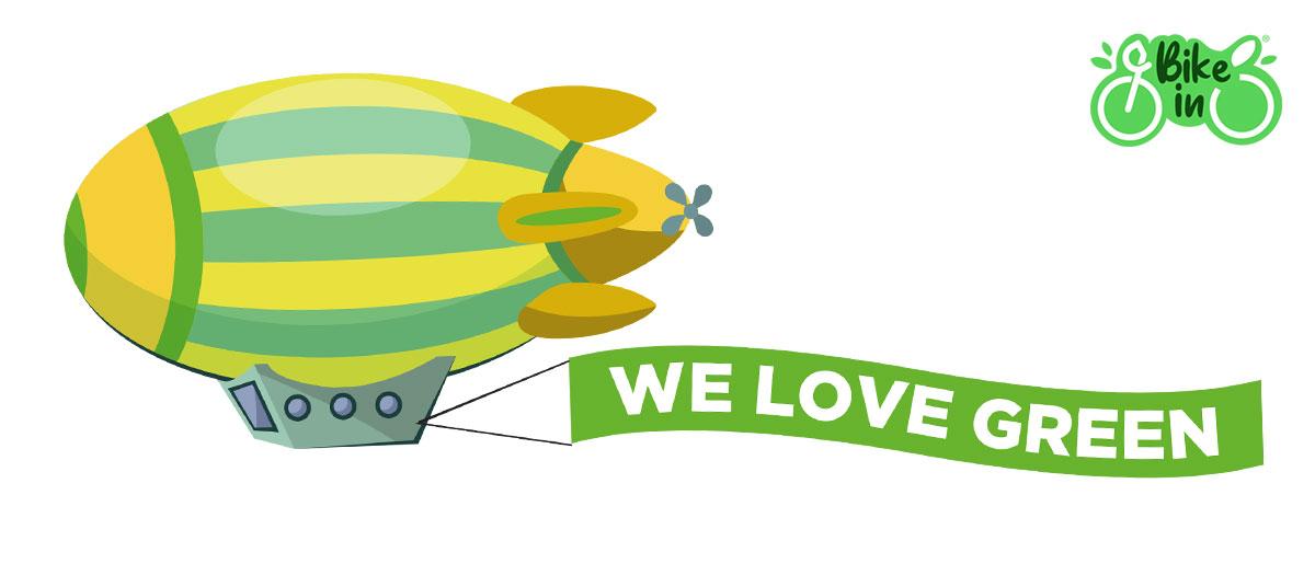 Illustrazione We Love Green