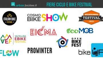 Tutte le fiere della bici e i bike festival italiani del 2021 e 2022