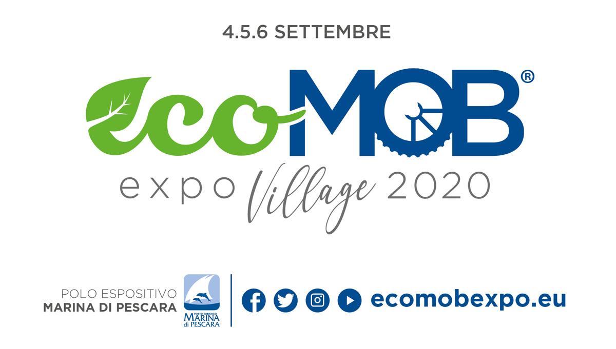 La locandina ufficiale di EcoMob Expo Village 2020