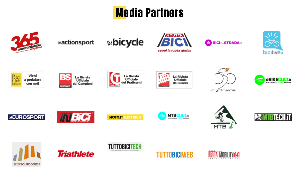 Elenco media partners Italian Bike Festival 2020
