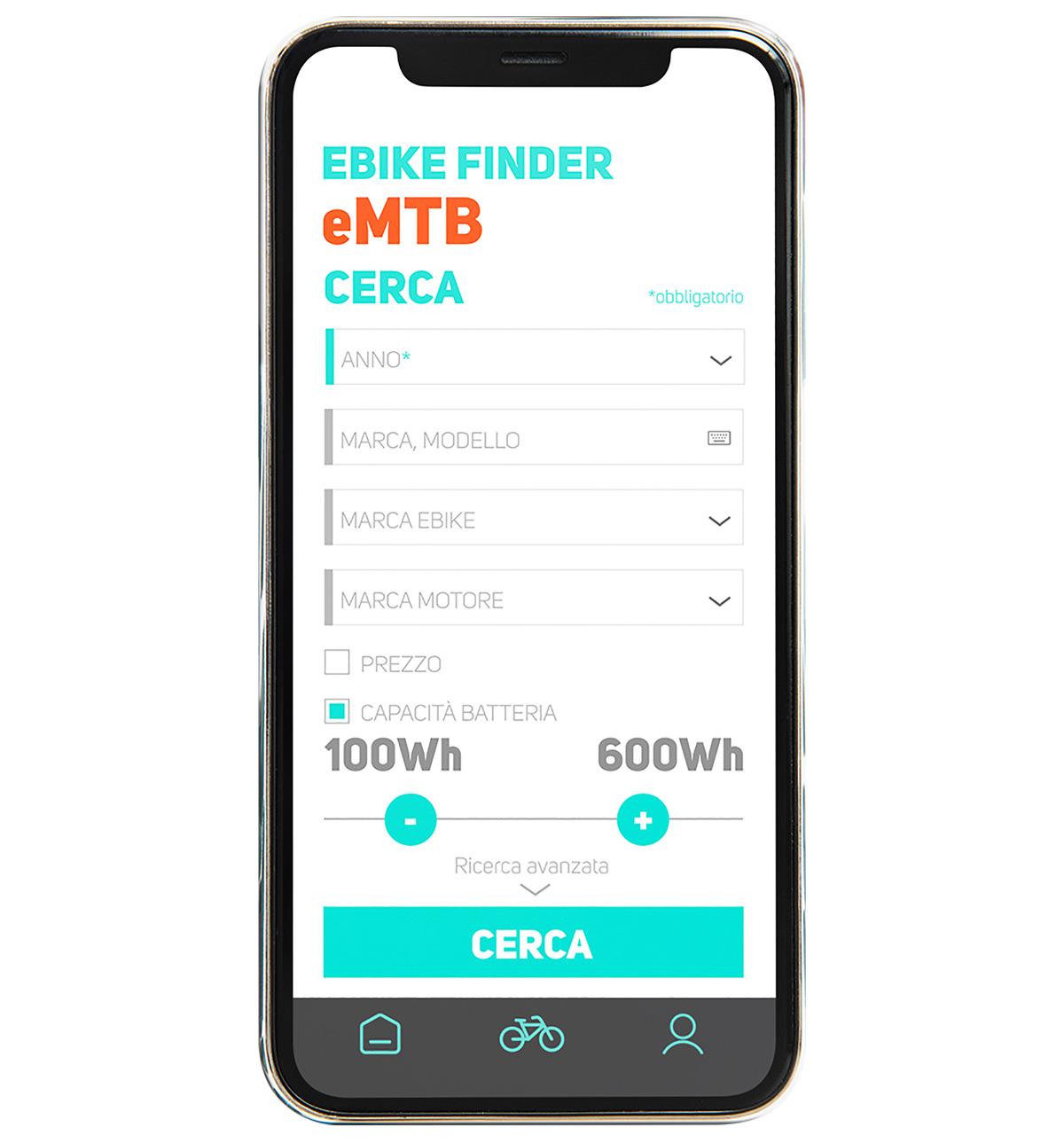 La seconda pagina dell'ebike finder dell'app di BiciLive per trovare la giusta ebike sullo smartphone
