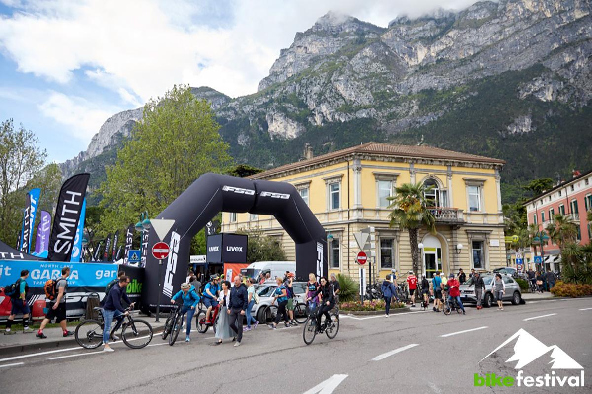 Ingresso del Bike Festival di Riva del Garda 2021