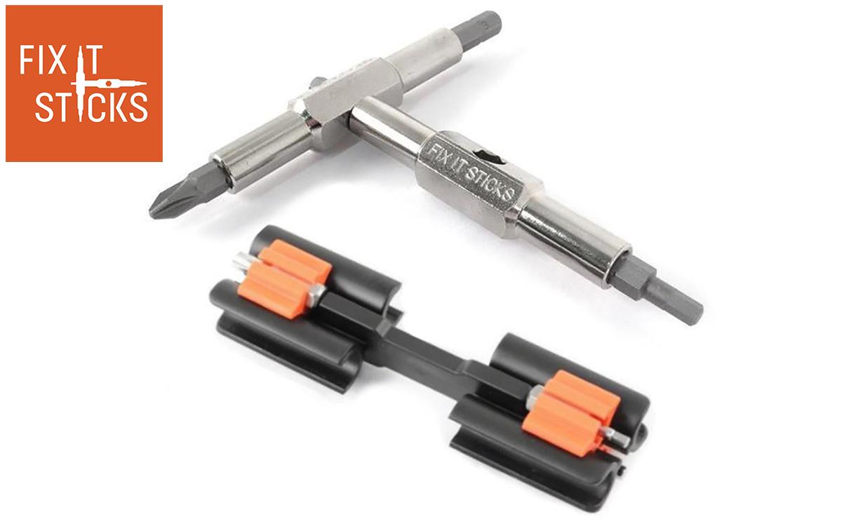 Il multi-tool per bici Fix-it Sticks