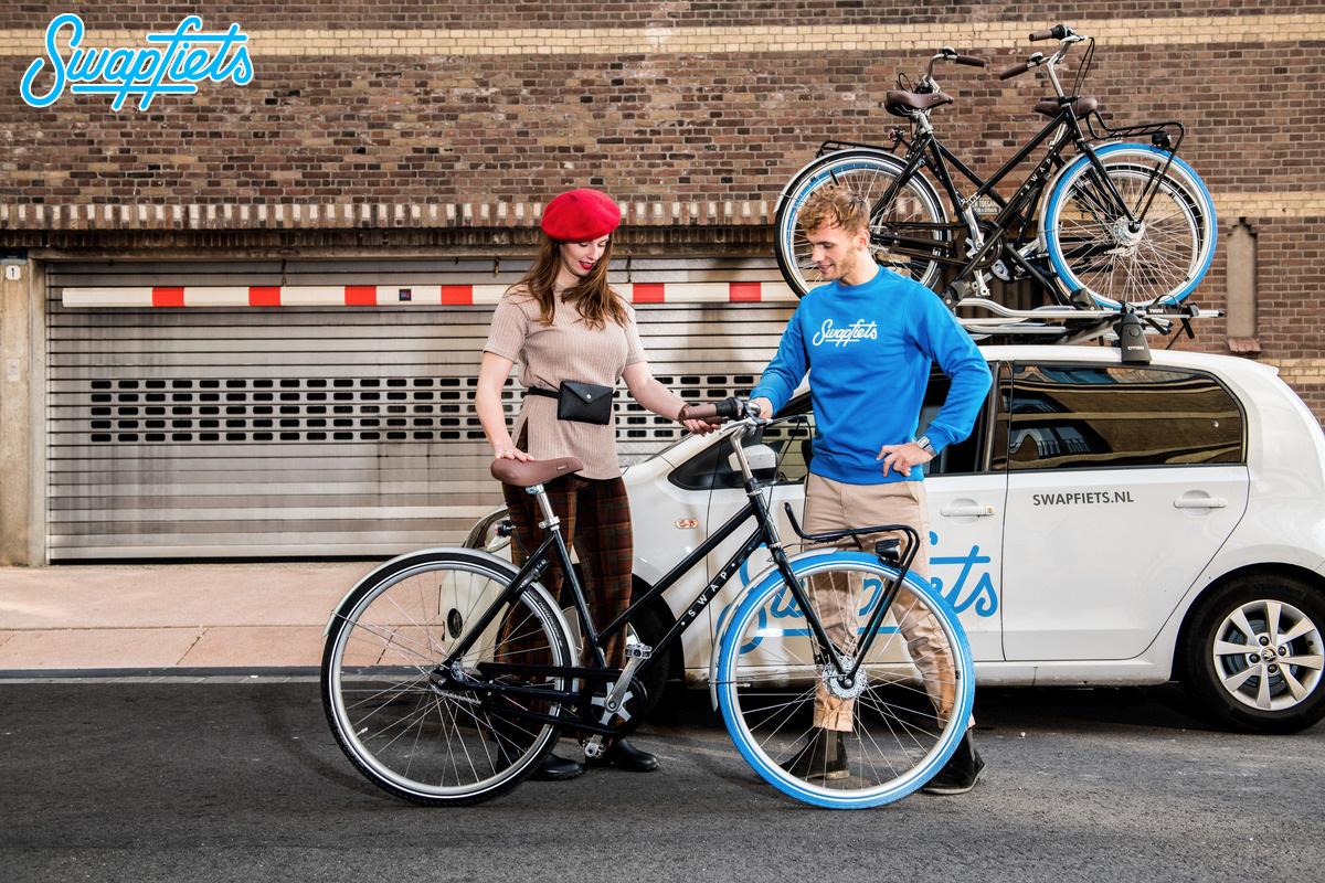 Swapfiets servizio di noleggio e assistenza biciclette