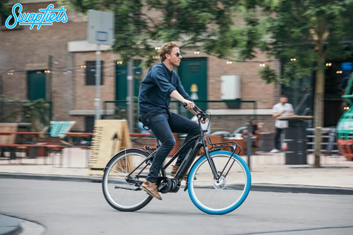 Swapfiets servizio di noleggio e assistenza biciclette e bici elettriche