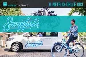 Swapfiets servizio di noleggio e assistenza biciclette 2020