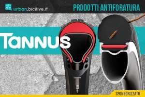 Tannus prodotti antiforatura per biciclette: Armour e Airless