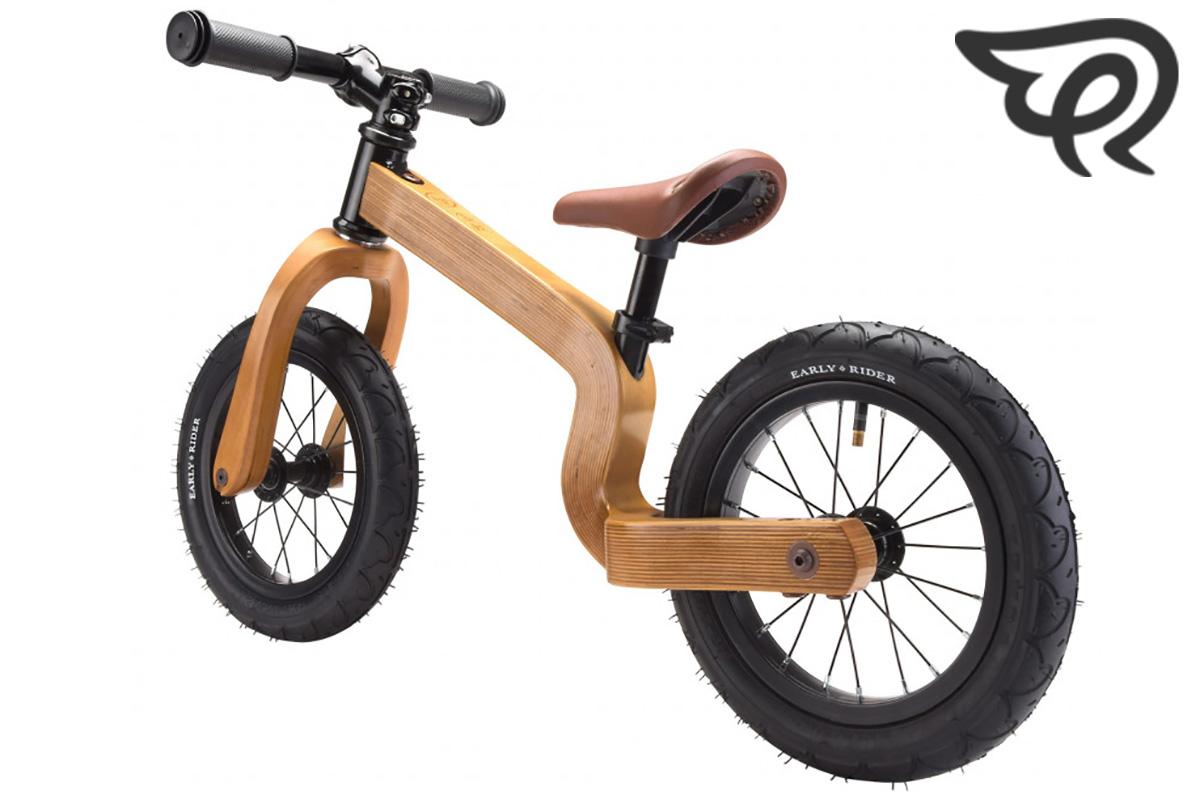 Balance bike senza pedali per bambino in legno Early Rider Bonsai.