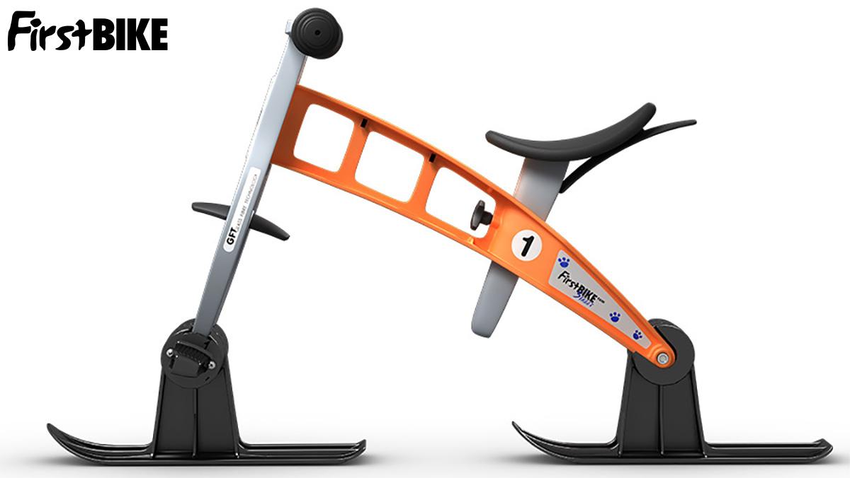 La balance bike da neve per bimbi FirstBike Ski