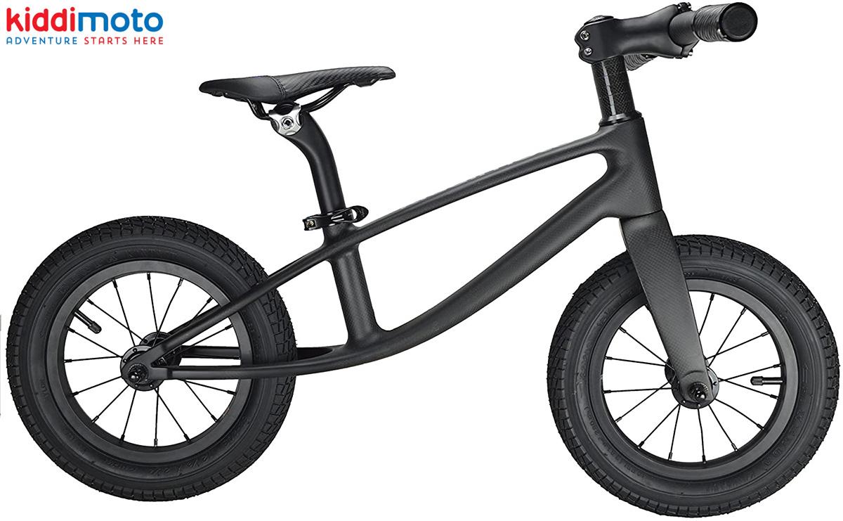 Bici per bambini senza pedali in carbonio Kiddimoto Karbon