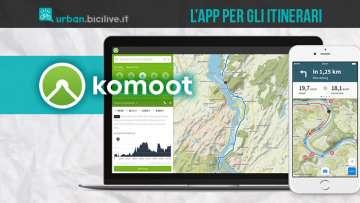Komoot è un'app comoda per pianificare escursioni a piedi e in bici
