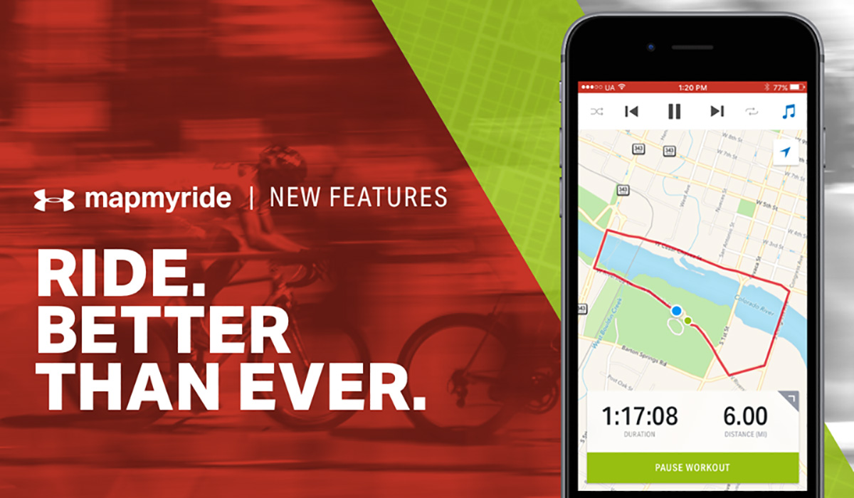 Mapmyride è la nuova app per scoprire nuovi percorsi e localizzarsi tramite GPS