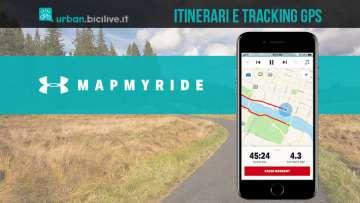 Mapmyride è la nuova app per scoprire itinerari e geolocalizzarsi