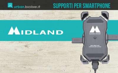 I supporti Midland smartphone per bicicletta