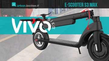 Nuovo monopattino elettrico Vivobike E-scooter S3 Max