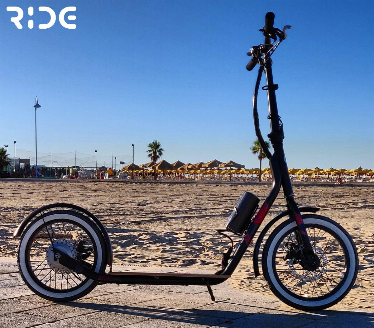 Un monopattino elettrico Ride ER16
