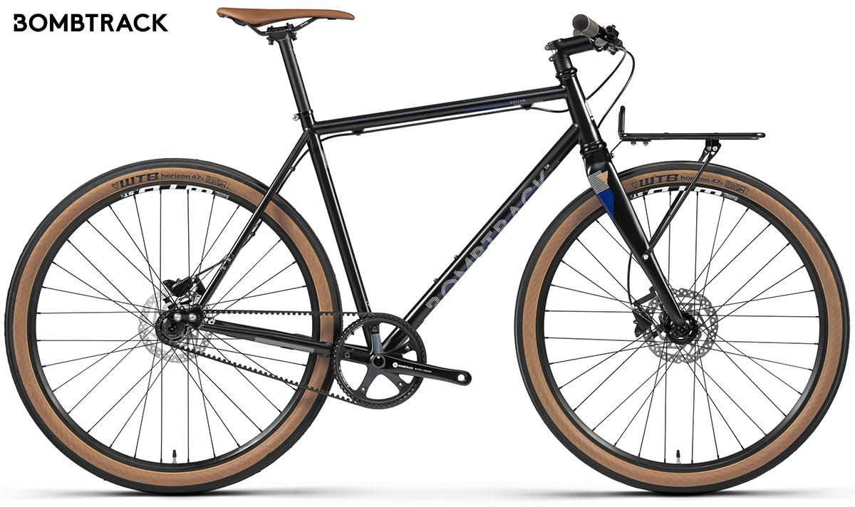 La nuova bici per gli spostamenti urbani Bombtrack Outlaw 2021 vista lateralmente