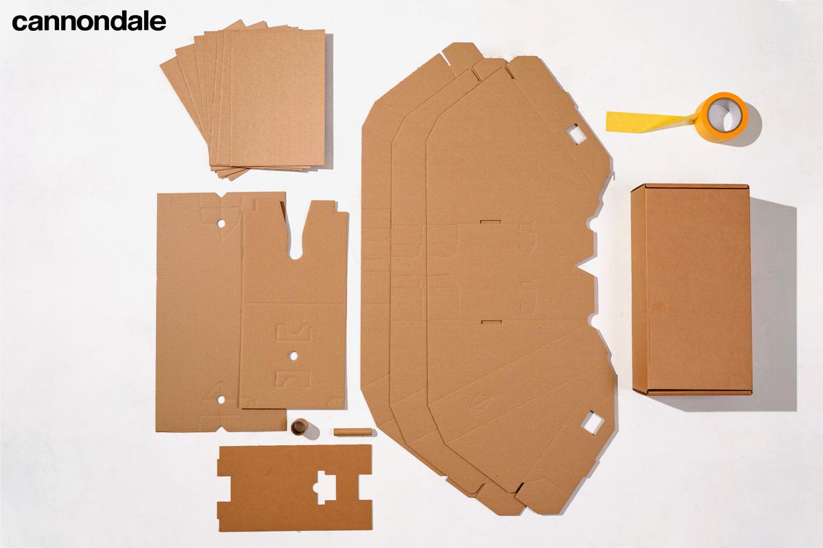 Il contenuto dei nuovi imballaggi Cannondale certificati FSC