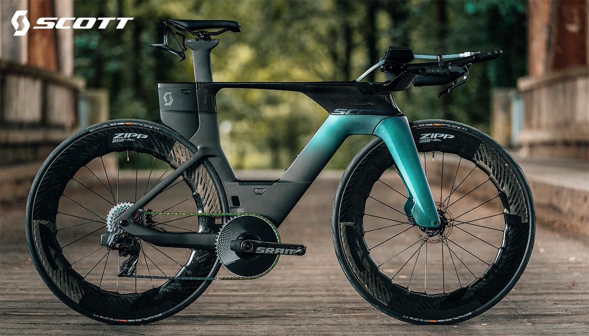La bici da triathlon Scott Plasma 6 2021