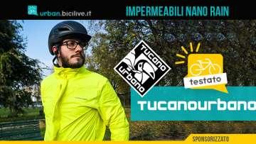 Il test di Pietro Franzese del completo antipioggia Tucano Urbano Nano Rain