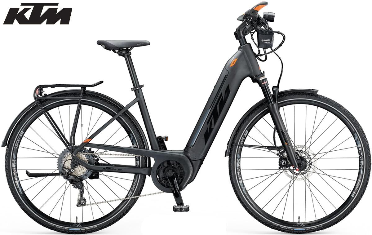 Una ebike da trekking e cicloturismo KTM Macina Sport ABS 2021