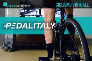 Il tour ciclistico virtuale Pedalitaly