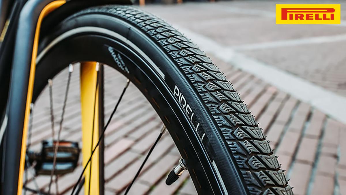 Il nuovo copertone invernale Pirelli Cycl-E Winter 2021 montato su una bicicletta