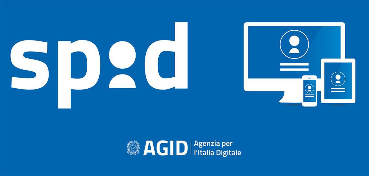 Logo del servizio SPID Sistema Pubblico di Identità Digitale