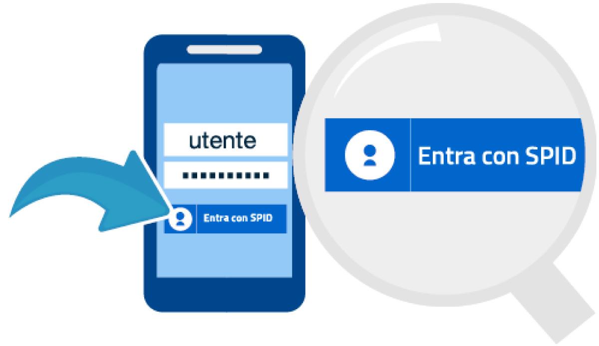 Registrazione al servizio SPID Sistema Pubblico di Identità Digitale