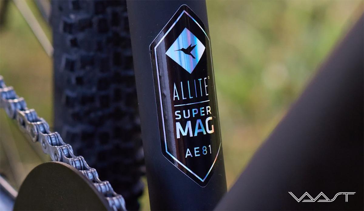 Il telaio della nuova bici Vaast U/1 Adventure 28 2021 è realizzato in una speciale lega di magnesio