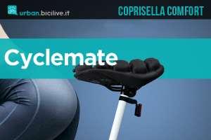 Cyclemate : coprisella gonfiabile anti-dolori per biciclette