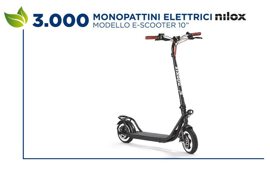 Monopattino elettrico Nilox E-Scooter 10