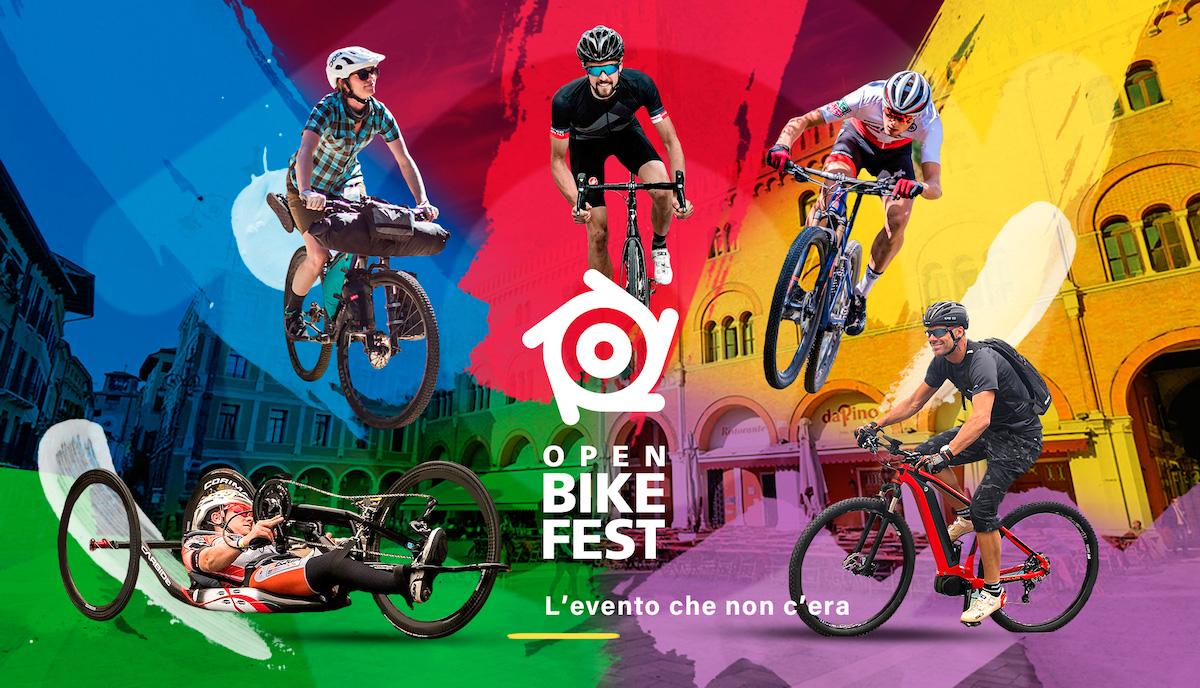 Locandina ufficiale dell'evento Open Bike Fest 2021