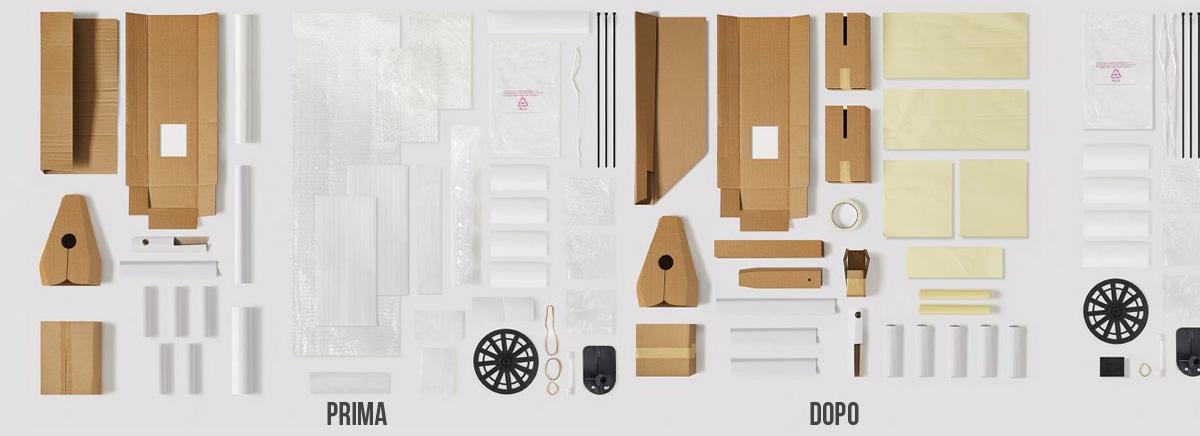 Imballaggio bici Trek: prima e dopo