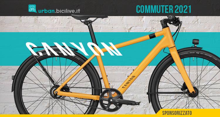 Canyon Commuter 2021: bici urban muscolare completa