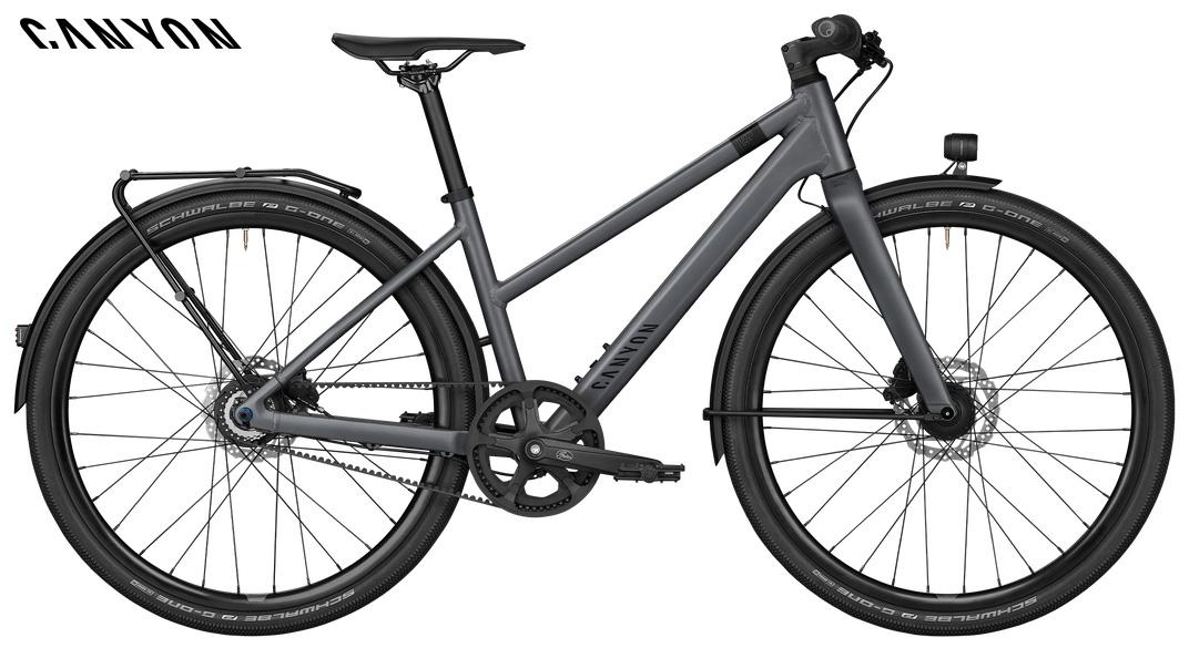 Bicicletta da città Canyon Commuter 6 WMN 2021 con telaio da donna