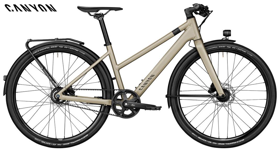Bicicletta urbana da donna Canyon Commuter 7 WMN 2021