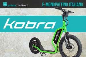 Il nuovo monopattino elettrico Cobra made in Italy 2021