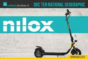 Il nuovo monopattino elettrico Nilox Doc Ten National Geopgraphic 2021